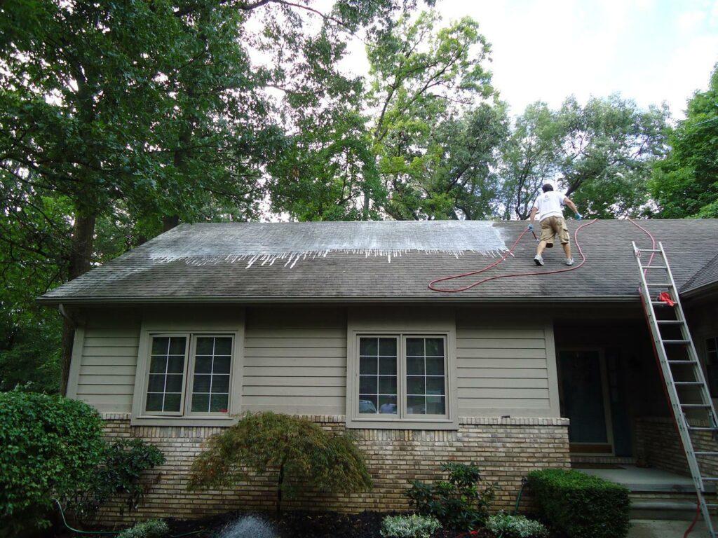 service Очистка крыши